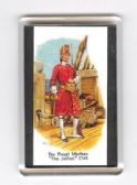 ROYAL MARINES UNIFORM 1745 FRIDGE MAGNET